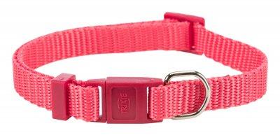 Нашийник Trixie Premium для кішок нейлон кораловий (TX-41742)