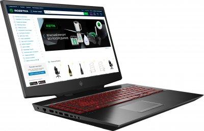 Ноутбук HP Omen 17-cb1002ur (104M7EA) Shadow Black
