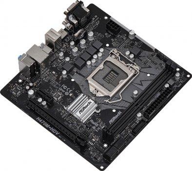 Материнська плата ASRock H470M-HDV (s1200, Intel H470, PCI-Ex16)