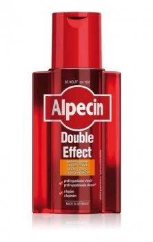 Alpecin Double Effect кофеїновий шампунь для чоловіків проти лупи та випадіння волосся (200 мл)