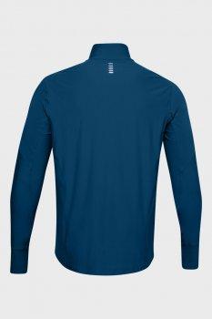 Чоловічий темно-синій лонгслів UA Qualifier Half Zip Under Armour 1326595-581