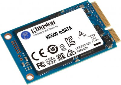 Kingston SSD KC600 256GB mSATA SATAIII 3D NAND TLC (SKC600MS/256G)