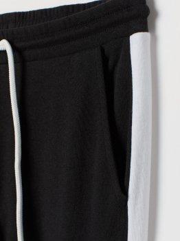 Спортивные штаны H&M 6780860dm Черные с белым