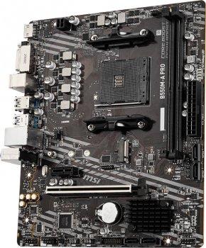 Материнская плата MSI B550M-A PRO (sAM4, AMD B550, PCI-Ex16)