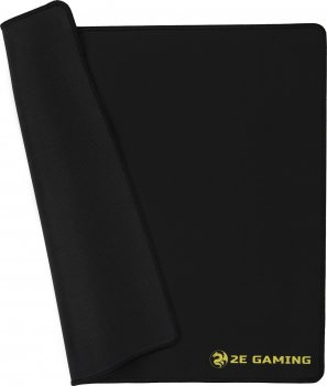 Игровая поверхность 2E Gaming Mouse Pad L Black (2E-PG310B)