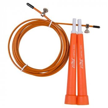 Скакалка World Sport для кроссфита помаранчева Cima 3м, ручка PVC помаранчевий