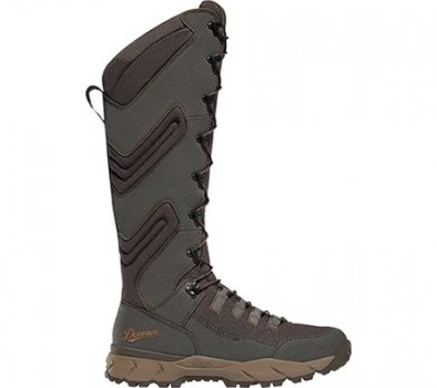 """Мужские сапоги Danner Vital Snake 17"""" Hunting Boot Brown Leather/Polyester (139158)"""