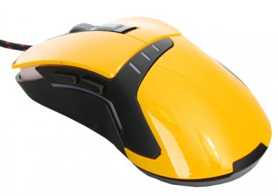 Мышь VARR OM-270 Gaming USB Black/Yellow (OM0270)