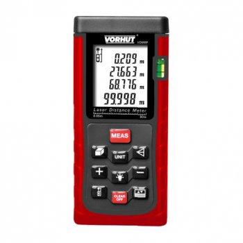Лазерний дальномір VDM-80, 0,05-80м +/-2мм, 7-функцій Vorhut ( 34-218 )