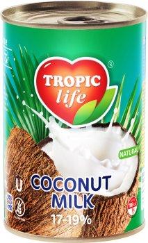Кокосовое молоко Tropic Life 17-19% 425 мл (5060235659287)