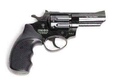 """Револьвер флобера ZBROIA PROFI-3"""" чорний / пластик (Z20.7.1.006)"""