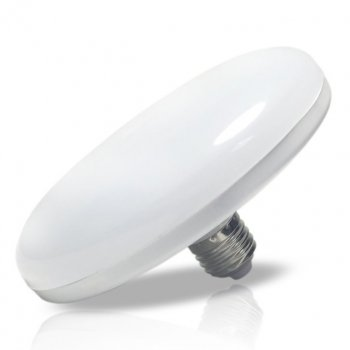 Лампа LED UFO 24W E27 5000K IP20 120Lm (Ø220) нейтральний світло