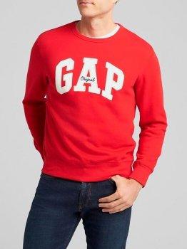 Світшот Gap 80089726 Червоний