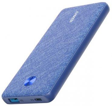 УМБ Anker PowerCore Slim PD 10000 mAh Blue (A1231H31)