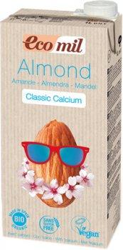 Растительное молоко Ecomil из миндаля с кальцием 1 л (8428532230191)