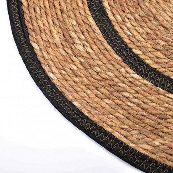 Килимок Mondex Bali круглий з водяного гіацинту 80см (40680844)