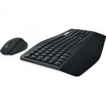 Комплект (клавіатура, миша) бездротовий Logitech MK850 Black Bluetooth (920-008232)