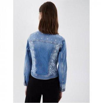 Джинсова куртка Liu Jo UA1122 D4588 78139 Блакитна
