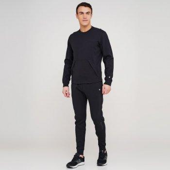 Чоловічі спортивні штани Champion Rib Cuff Pants Чорний (cha214966-NBK)