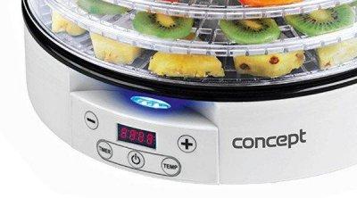 Сушилка для овощей и фруктов Concept SO-2020 дегидратор 500 Вт. на 9 лотков Чехия