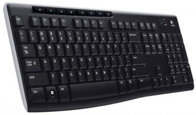 Клавіатура Logitech K270 Black USB Wireless (920-003757)