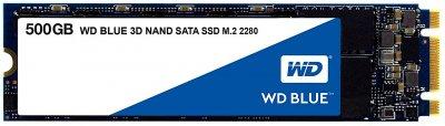 Western Digital Blue SSD 500GB M. 2 2280 SATAIII 3D-V-NAND (S500G2B0B)
