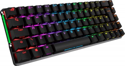 Клавіатура бездротова Asus ROG Falchion PBT Cherry MX Red ENG (90MP01Y0-BKUA00)