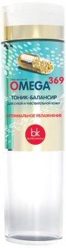 Тоник-балансир для лица Белкосмекс Omega 369 для сухой и чувствительной кожи 200 г (4810090009960)