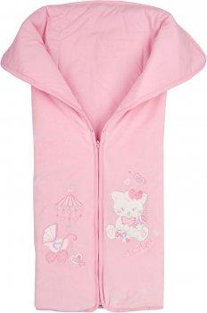 Демисезонный конверт-одеяло ЛяЛя 14ВЛ003 8-01 68 см Розовый (140500380168)