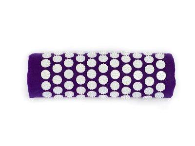 Напіввалик масажно-акупунктурний Igora ТМ Ігора RELAX 38 × 12 × 6 Фіолетовий (PL-384)