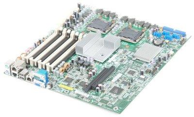 Материнская плата для сервера HP 457882-001, s771, 8xDDR2, 4xSATAII, 2xLAN, VGA EATX Б/У
