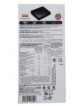 Шоколад чорний Lacasa 92% Dark Chocolate 100 г (55082)