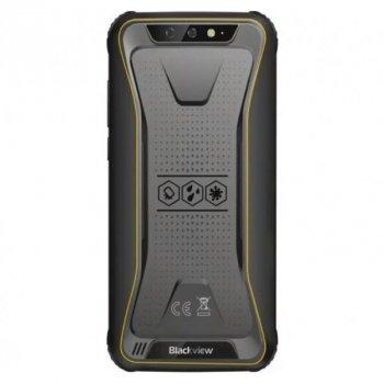 """Мобільний телефон Blackview BV5500 Plus yellow 3/32gb 5,5"""" IP68 4400mAh NFC (430 zp)"""