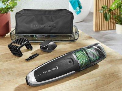 Триммер для волосся та бороди Remington MB6830 Vacuum Чорний