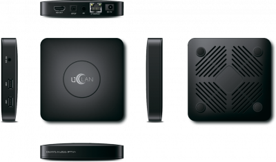 Ресивер IPTV на Linux - HD медиаплеер UCLAN Denys H.265 IPTV+