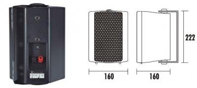 Настенная акустическая система ITC T-775