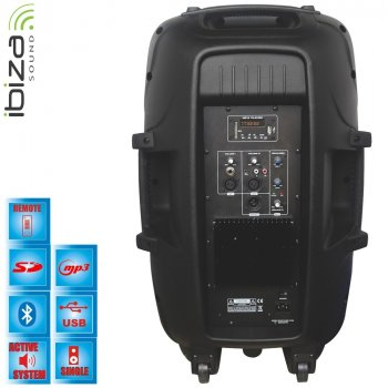 Активна акустична система IBIZA BT15A