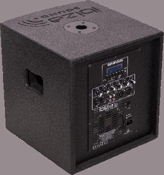 Активний комплект акустичних систем IBIZA CUBE104