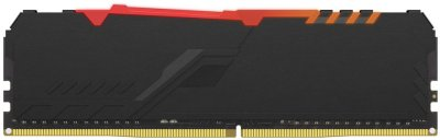 Оперативная память HyperX DDR4-2400 8192MB PC4-19200 Fury RGB Black (HX424C15FB3A/8)