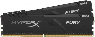 Оперативная память HyperX DDR4-3200 16384MB PC4-25600 (Kit of 2x8192) Fury Black (HX432C16FB3K2/16)