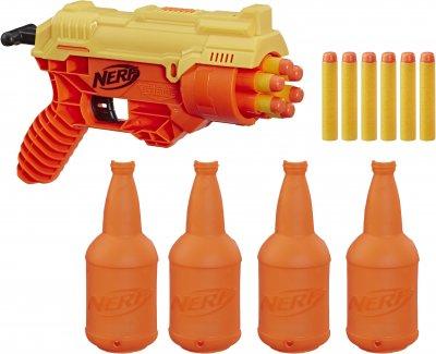 Бластер Hasbro Nerf с мишенями Nerf Alpha Strike Кобра RC 6 (E7857) (5010993625819)