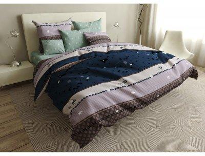 Комплект постельного белья SoundSleep Pandas бязь 160х220 (93425346)