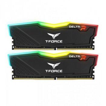 DDR4 2x8GB/3200 Team T-Delta Force Black RGB (TF3D416G3200HC16CDC01)