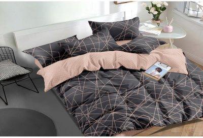 Комплект постельного белья SoundSleep Facets сатин 160х220х2 (93425001)