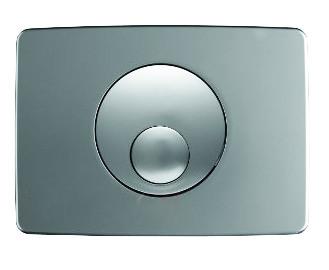 Спускная кнопка KOLO 14,5*20,5 см хромированная матовая
