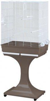 "Клетка для птиц FOP ""CRISTINA"" с подставкой 66 х 45 х 84 см Мокко (8018084031119)"