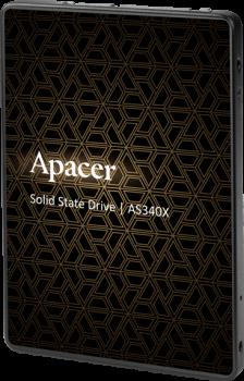 "Apacer AS340X 240GB 2.5"" SATAIII 3D NAND (AP240GAS340XC-1)"