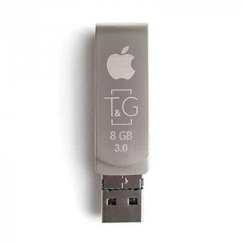 Флеш-накопичувач USB3.0 8GB Lightning T&G 007 Metal Series (TG007IOS-8G3)
