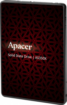 "Apacer AS350X 256GB 2.5"" SATAIII 3D NAND (AP256GAS350XR-1)"
