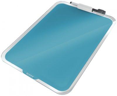 Флипчарт стеклянный настольный Leitz Cosy 216х297 мм синий (3947-00-61)